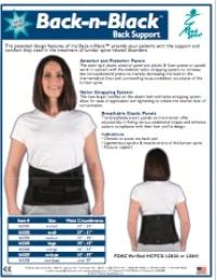 Back n Black Back Support
