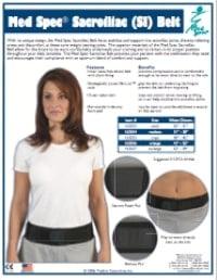 Med Spec Sacroiliac (SI) Belt