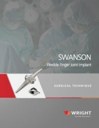 Wright Swanson Finger Joint replacements - Surgical Technique