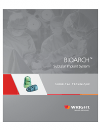 Wright Bioarch Subtalar Arthroereisis Implant