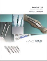 Wright Pro-Toe VO Hammertoe Fixation System