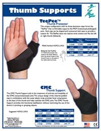Medspec Tee Pee Thumb Support