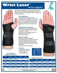 Medspec Wrist Lacer - wrist support